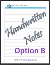 Course: IB Chemistry SL & HL, Topic: My Notes for Option B