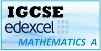 IGCSE EDEXCEL Mathematics A