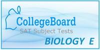 SAT Subject Test Biology E