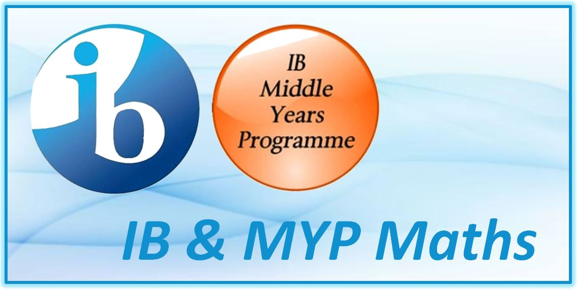 IB and MYP Maths Directory ICON 1