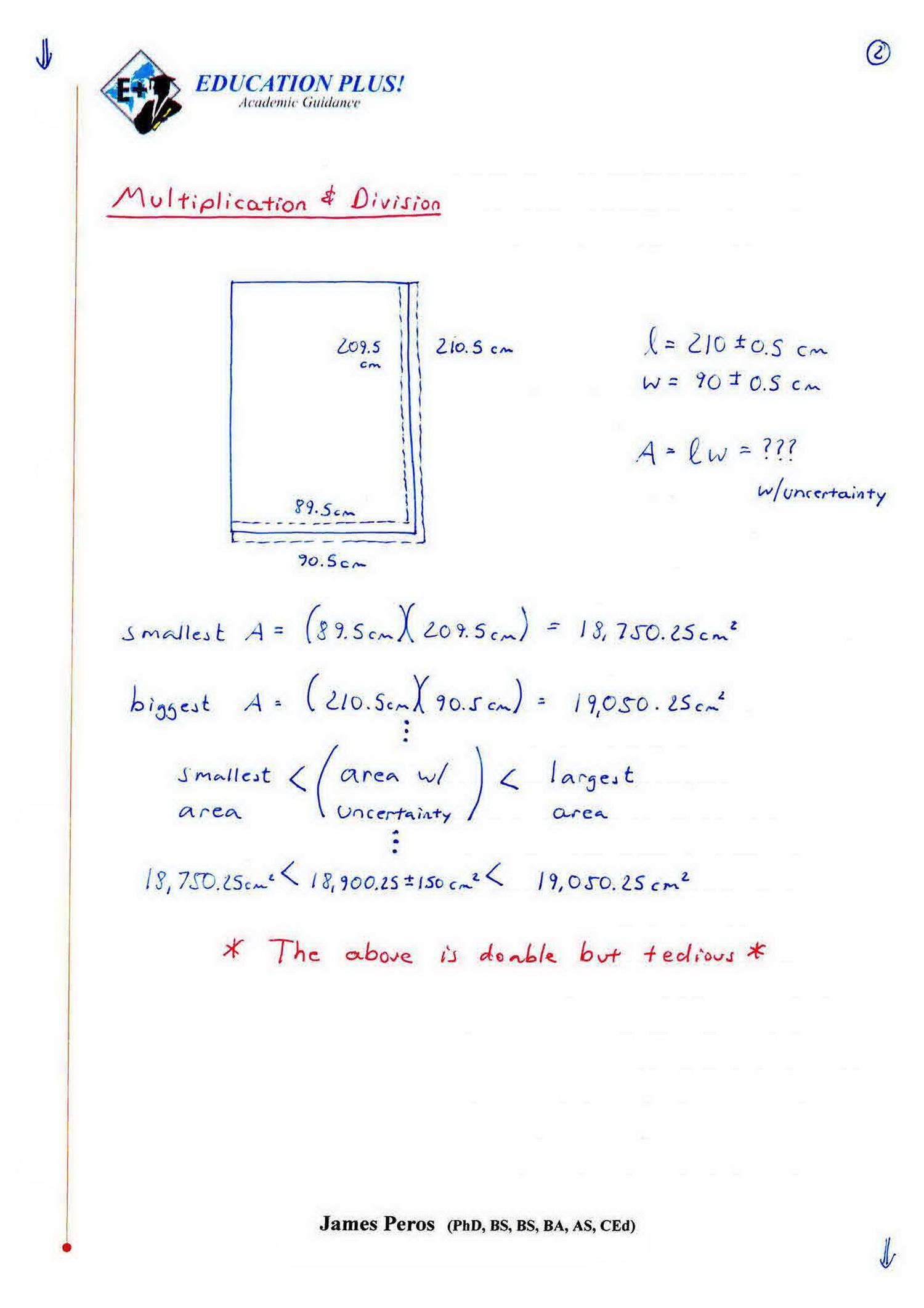 IB Chemistry SL & HL: 11.1 - Propagation of Uncertainties