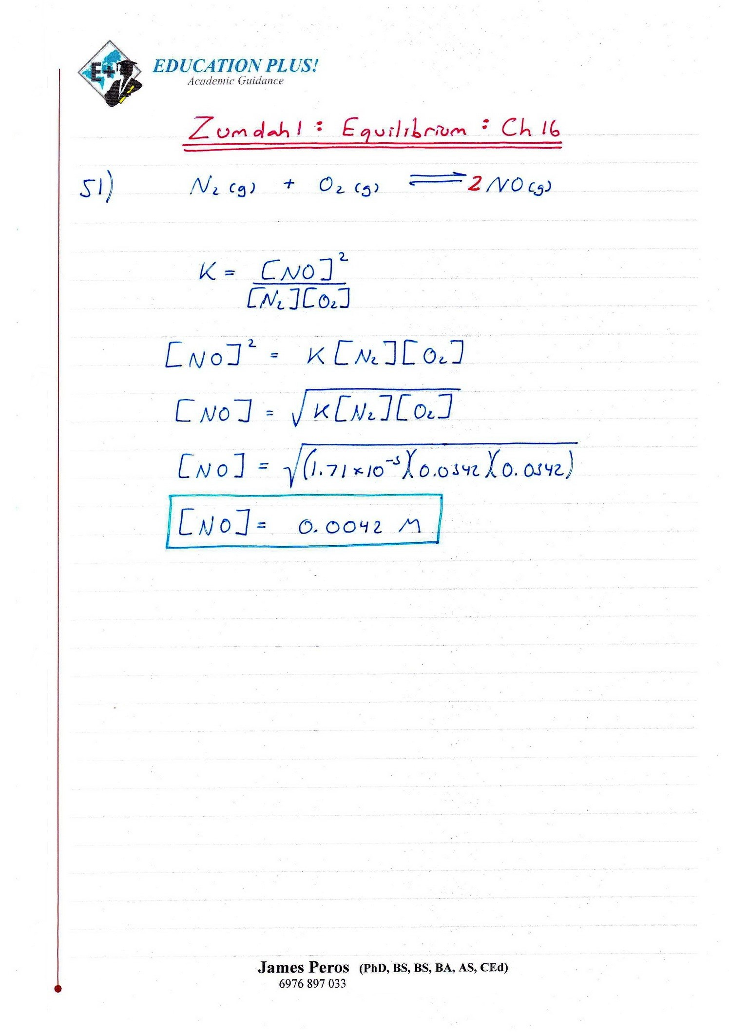 IB Chemistry SL & HL: Intro to Chem by Zumdahl 3rd Ed: Ch ...